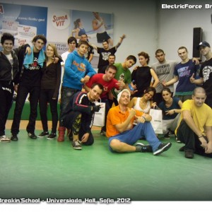 ElectricForce Breakin'School 2012